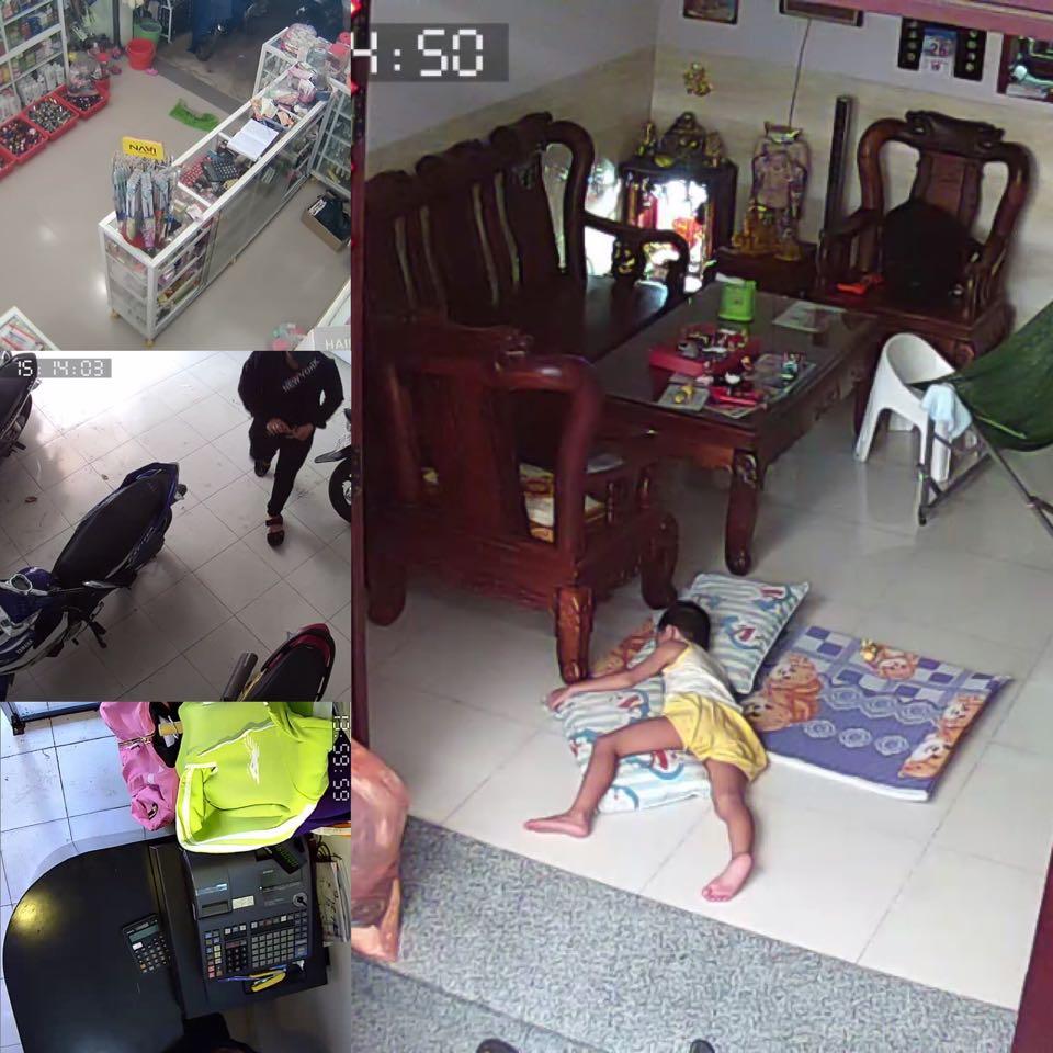 lắp đặt camera giám sát trong nhà tất cả các vị trí