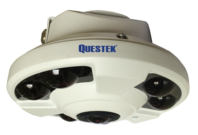 Camera Dome Questek QOB-4172AHD camera Màu Mini ngụy trang